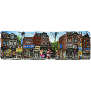 Queen Video  Street West Art Print