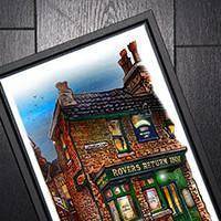 Coronation Street Rovers Return Wall Art