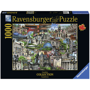 Mon Montreal Canadian Jigsaw Puzzle