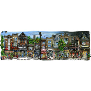 Roncesvalles Avenue #3, Toronto Wall Art