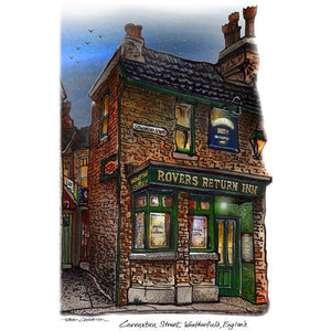 Coronation Street Rovers Return Wakk Art