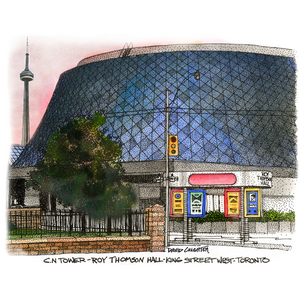 Post Card -Roy Thomson Hall