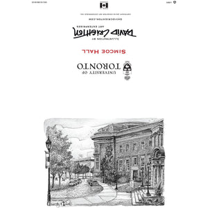 U of T - Simcoe Hall Greeting Card