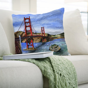 San Francisco, USA Pillows by David Crighton