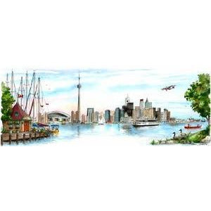 Original Artwork - Toronto Skyline