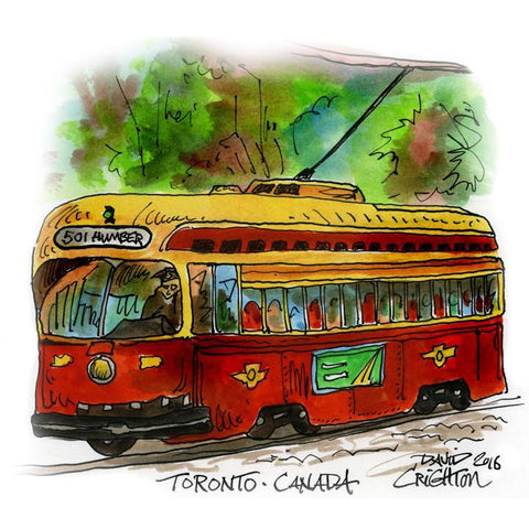 Red Rocket Humber, also available as Neville Park Toronto Streetcar