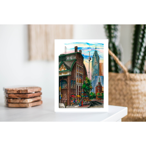Toronto Greeting Card  - St. Lawrence Market