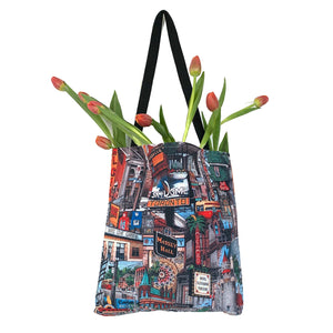 Toronto Canvas Tote Bag | Toronto Art Print Tote Bag