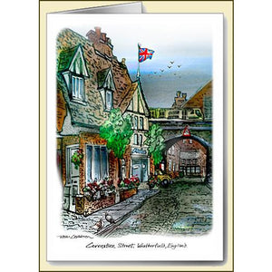 "Coronation Street ""Viaduct"" Greeting Card"