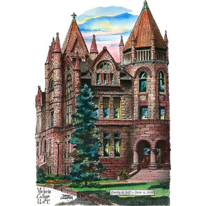University of Toronto Victoria College Wall Art