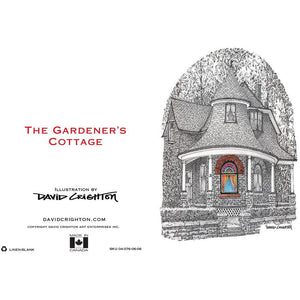 The Gardener's Cottage Toronto Greeting Card