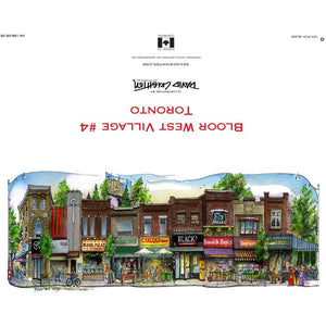 Bloor West Card #4 by David Crighton