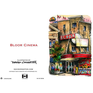 Bloor Cinema Card by David Crighton