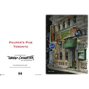 Paupers Pub Toronto Greeting Card