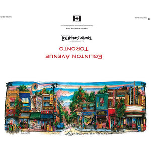 Eglinton Avenue Toronto Greeting Card