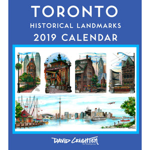 Toronto Attractions Wall Calendar makes a great personal or corporate gift