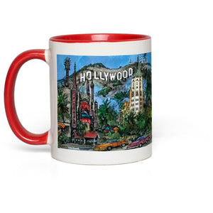 Hollywood Hills , Los Angeles Coffee Mug, Academy Award Coffee Mug