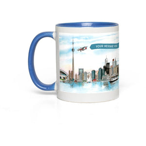 Toronto Skyline Custom Coffee Mugs