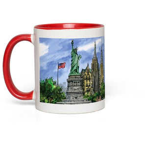 New York City Souvenir 11 oz. Coffee Mug, Statue of Liberty Mug