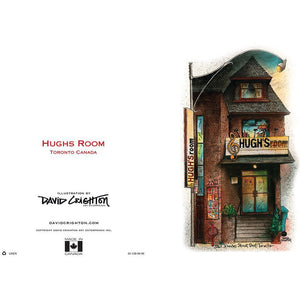 Hugh's Room Toronto Greeting Card