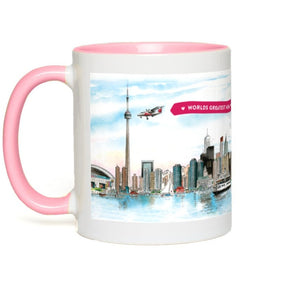 Toronto Skyline Custom Mothers Day Coffee Mug