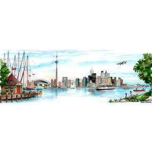Toronto Skyline Classic Greeting Card