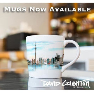 Toronto Skyline Art Coffee Mug makes a unique souvenir gift