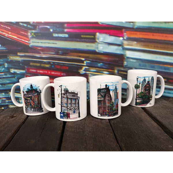 City of Toronto Historic Sites Coffee Mugs