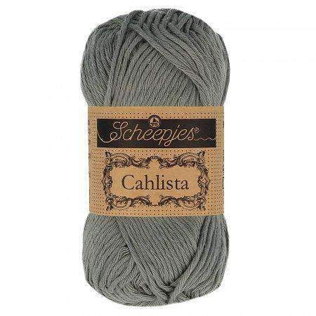 Scheepjes Cahlista 242 Metal Grey CuteDutch