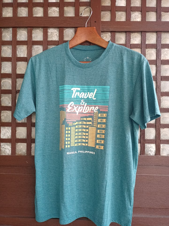 Travel & Explore Graphic Tee - Teal