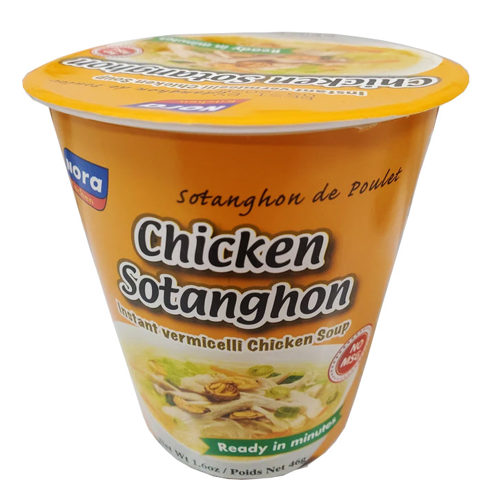 Nora Kitchen Chicken Sotanghon Instant Vermicelli Chicken Soup 46g