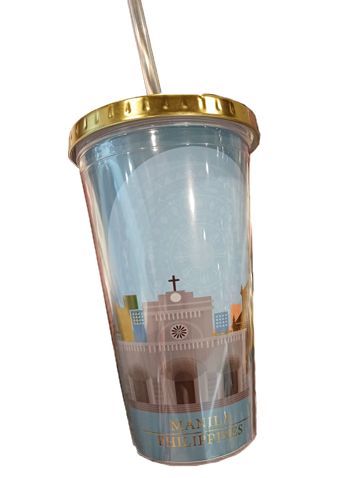 Tumbler With Lid And Straw, Light Blue, 16 oz, Shipping fee included