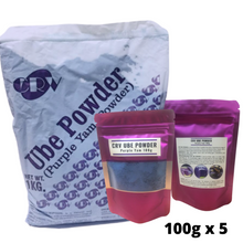 Load image into Gallery viewer, CRV - Ube Powder, 500 Grams Repacked (5x100g)