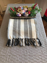 Load image into Gallery viewer, TABLE RUNNERS made of Abaca, Jute, and Ikat Fabrics