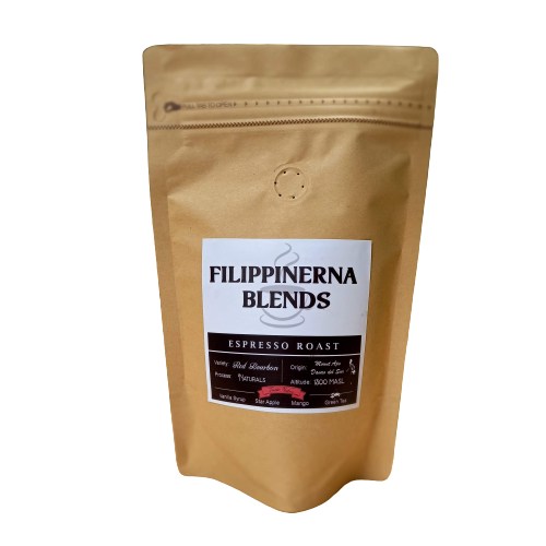 Filippinerna Blends - Espresso Roast (Mt. Apo), 200g, BUY 1 GET 1 for FREE