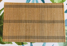 Load image into Gallery viewer, Bamboo Placemats, Set of 4