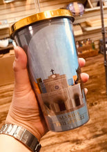 Load image into Gallery viewer, Tumbler With Lid And Straw, Light Blue, 16 oz, Shipping fee included
