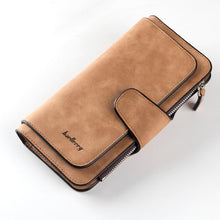 Load image into Gallery viewer, Baellerry Leather Women Wallets Coin Pocket Hasp Card Holder Money Bags Casual Long Ladies Clutch Phone Wallet Women Purse W195