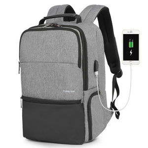 Tigernu Expandable Backpack Men for 15.6-19 Inch Laptop/Computer Backpacks with RFID & USB Charging Anti Theft Mochila Male NEW