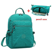 Load image into Gallery viewer, ACEPERCH Casual Original School Backpack for Teenage Mochila Escolar Travel School Bags Backpack for Laptop With Monkey Keychain