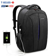 Load image into Gallery viewer, Tigernu Splashproof 15.6inch Laptop Backpack NO Key TSA Anti Theft Men Backpack Travel Teenage Backpack bag male bagpack mochila