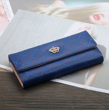 Load image into Gallery viewer, Wallet Female Women's Wallet Snap Coin Purse Phone Bag Bow Multi-card Bit Card Holder Purse Women Luxury  Billetera Mujer