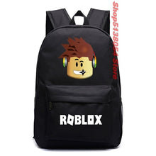 Load image into Gallery viewer, School Bags roblox backpack for teenagers Girls Kids Boys Children Student travel backpack Shoulder Bag Laptop bolsa escolar