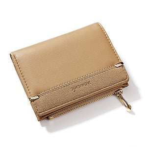 Women's Wallet Short Women Coin Purse Fashion Wallets For Woman Card Holder Small Ladies Wallet Female Hasp Mini Clutch For Girl
