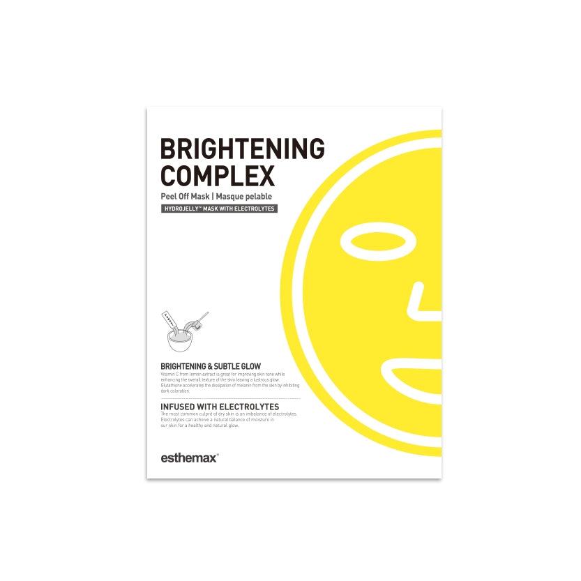 Esthemax Brightening Complex Hydrojelly Mask
