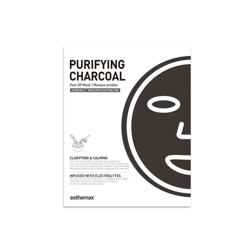 charcoal hydrojelly mask