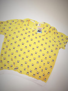Adult Baby T-shirt yellow L/XL