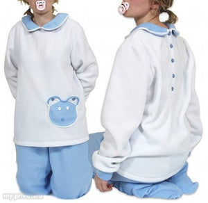 adult baby set deluxe fleece color