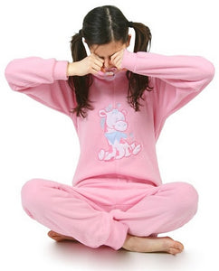 adult baby onesie jumpsuit - babygirl - fleece color