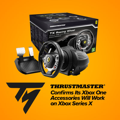 Thrustmaster Confirms Its Xbox One Accessories Will Work on Xbox Series X